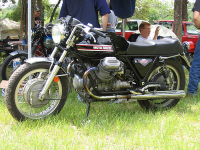 Very nicely done V7 sport at the BMOA rally in May 2005