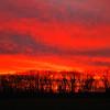 A sunrise at the Farm