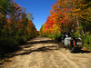 Wisconsin Dual Sport Riders Adventure ride Fall 2007