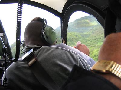 Hawaii chopper flight