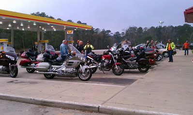 First Sunsay Ride January 8, 2012
