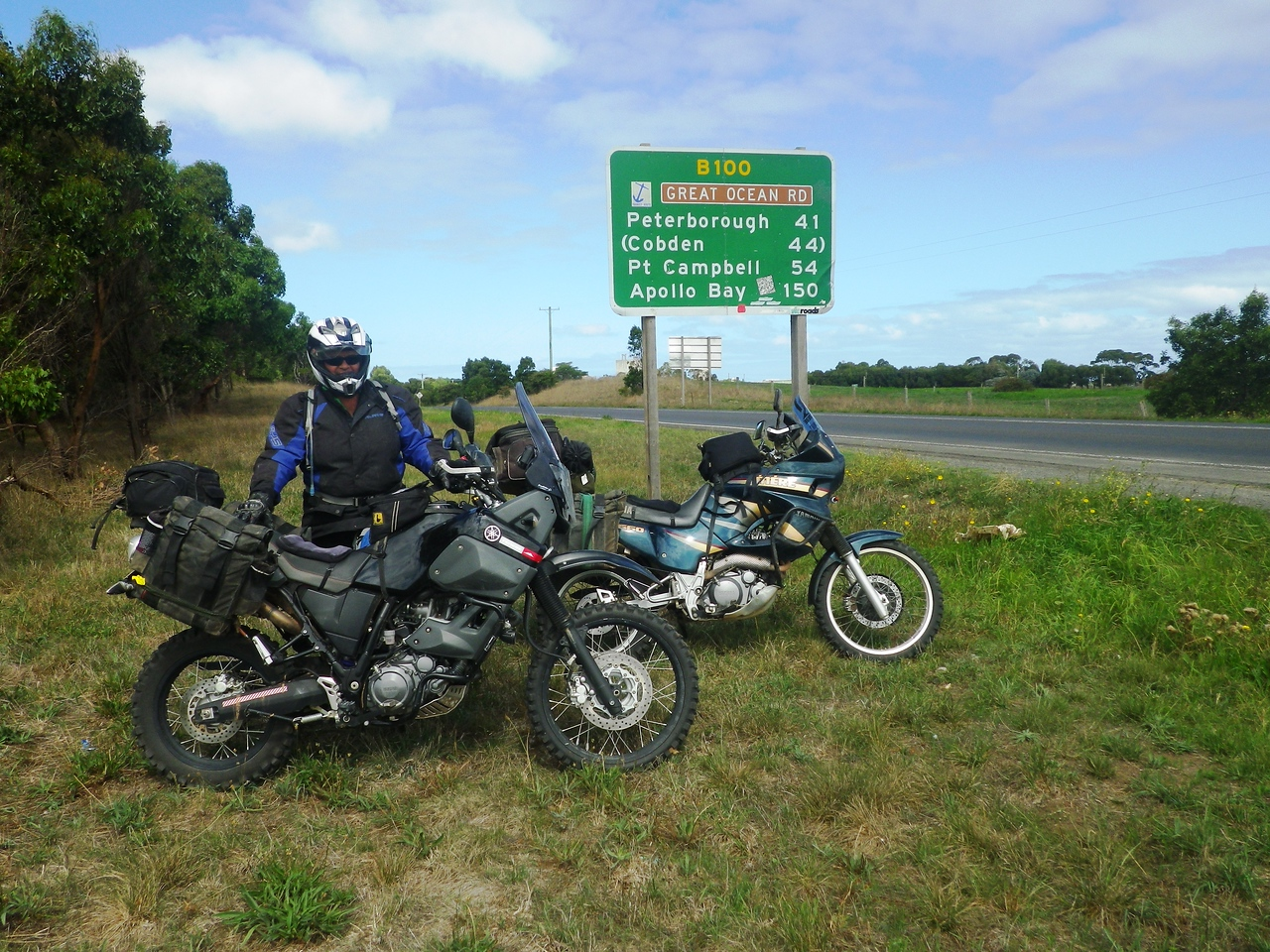 Start of the Great Ocean Road (or end if you prefer)