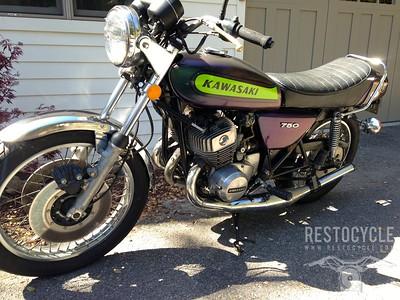 The Not-Restoration of a 1975 H2-750 Kawasaki