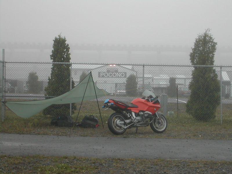 Track Day at Pocono. 2003
