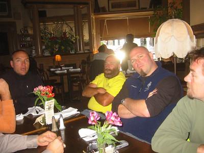 These clowns met me in Woodstock, VT.