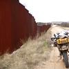 """""""the Wall"""" at Sasabe, AZ"""