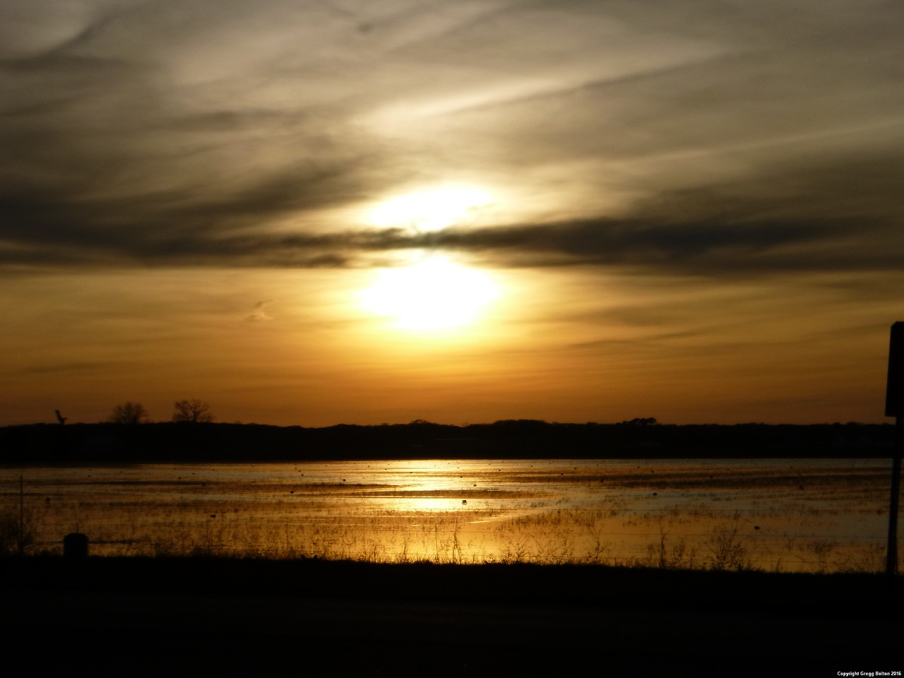 Sunset over the Rice Patties - Palmento Island, LA