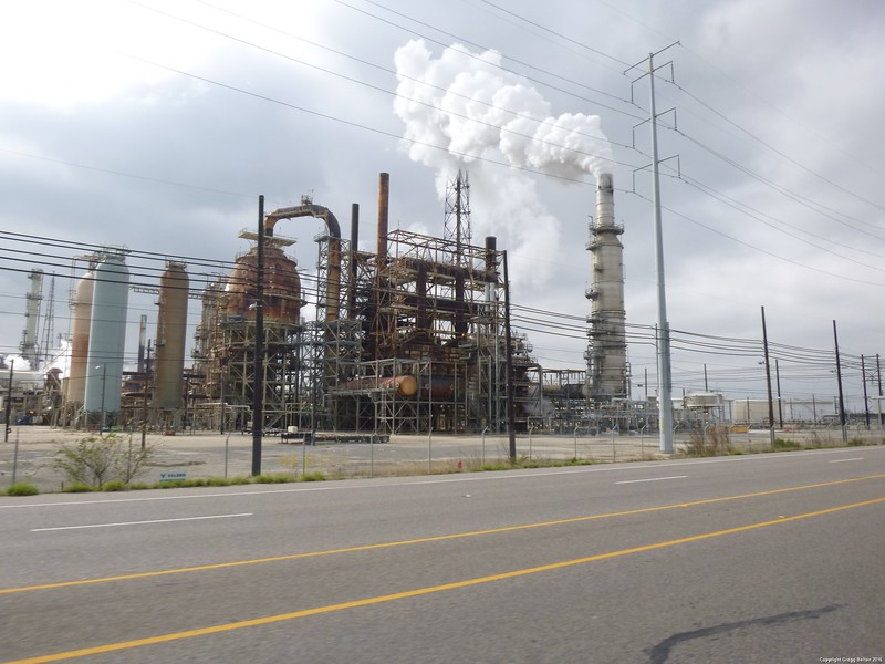 Natural Gas refinery (I think)