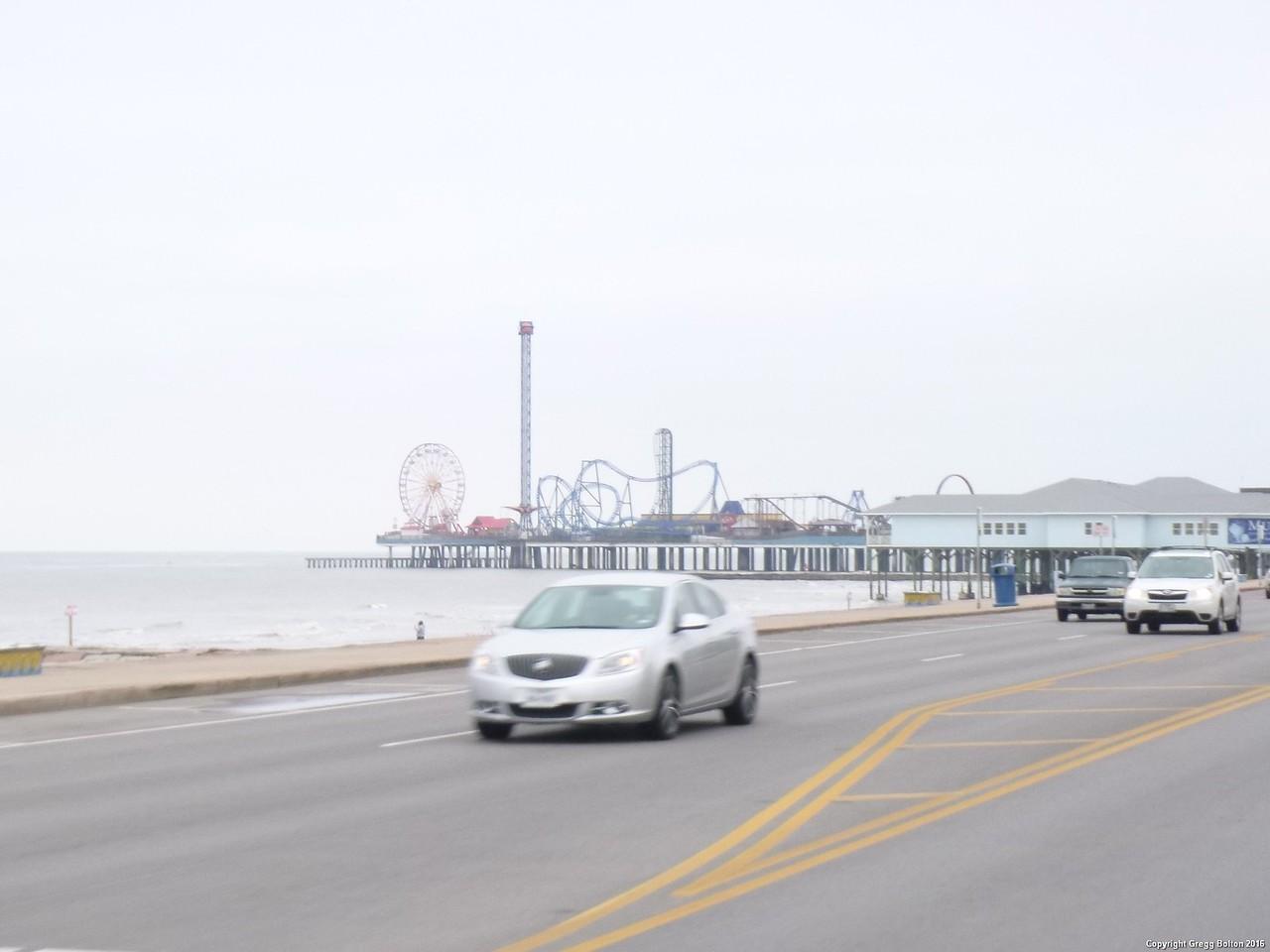 Galveston Amusement pier