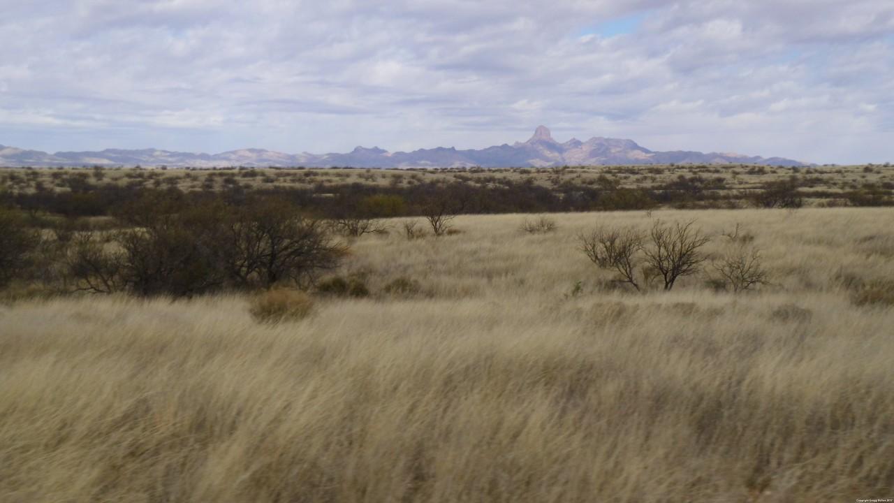 Baboquivari Peak from Tres Boleros