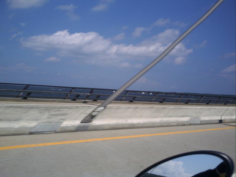 Jamestown Bridge in Rhode Island.