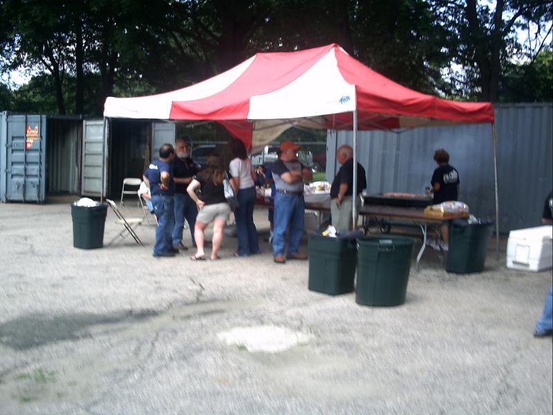 BBQ at Razee's.
