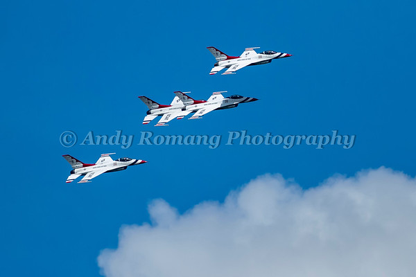 Thunderbirds JBER Air Show