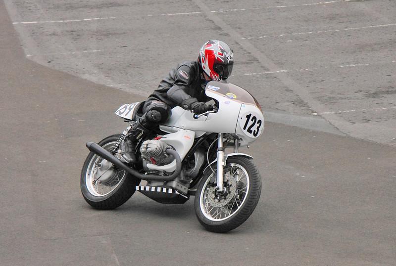 Classic ex-works BMW racer