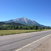 6/27 - Morning, heading south of Carbondale on CO133. This is Mt. Sopris, 12,953 ft.
