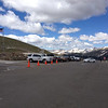 6/25 - Rocky Mountain National Park. The summit parking lot.