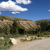 6/26 - Coming down the west side of Independence Pass, CO82.