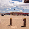 "7/2 - US160, Four Corners Monument. The ""shops"" surround all sides of the monument."