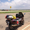 7/3 - I-40, west of Amarillo. I'm well into my run back home now. I wanted to get home and leave myself a day of rest before heading back to work, so it was slab all the way home for me.