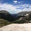 6/25 - Rocky Mountain National Park. Climbing Trail Ridge...