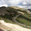 6/27 - Cottonwood Pass, summit. Looking at the east side.
