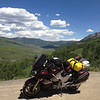 "6/27 - I rolled through the town of Crested Butte without stopping...not really into the ""browse the shops"" deal. I ended up a few miles up the dirt road that leads to Schofield Pass. The pass didn't look like it really led anywhere I wanted to go, so I turned around."
