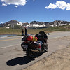 6/26 - Summit of Independence Pass, looking west...I'd pass through Aspen on this road a bit later.
