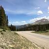 6/28 - Heading up Hoosier Pass towards Breckenridge.