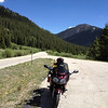 6/26 - Heading up Independence Pass. Looking back down CO82.