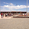7/2 - US160, Four Corners Monument. It was over 90 degrees here and fairly crowded. For all intents and purposes, it's a tourist trap. The native Americans sell their wares from the stalls that surround the monument. It was interesting and good to say I've been here, but it's nothing to bother with on future trips.