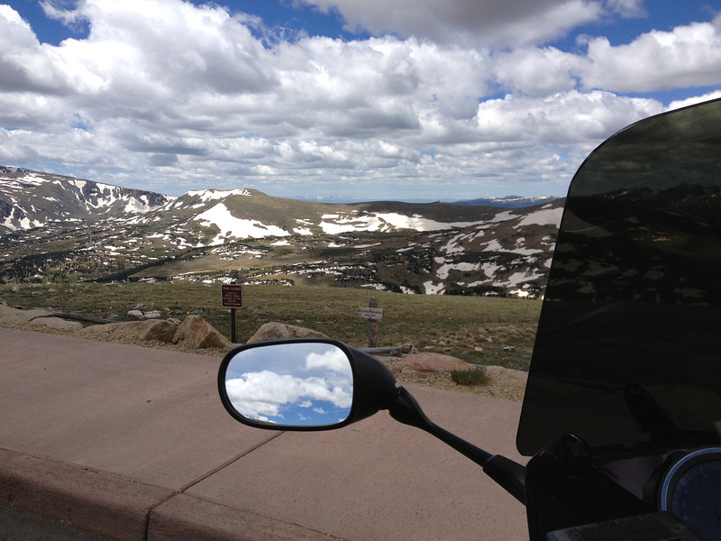 6/25 - Rocky Mountain National Park. Just east of the summit on Trail Ridge.