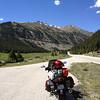 6/26 - Heading up Independence Pass, CO82. Bike pr0n shot, lol.