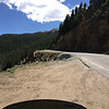 6/26 - Heading up Independence Pass, CO82. This is up on the cut you saw in the earlier pics.