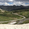 6/27 - Cottonwood Pass, summit, east side approach.