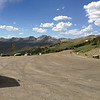 6/27 - Cottonwood Pass, summit. The western approach I'd just come up.