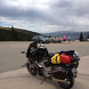 6/23 - Berthoud Pass summit and my trusty FJR...we'd be seeing a lot of mountain passes on this trip.