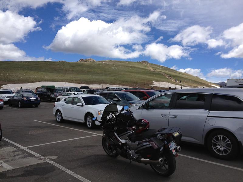 6/25 - Rocky Mountain National Park. The beast awaits further exploration...