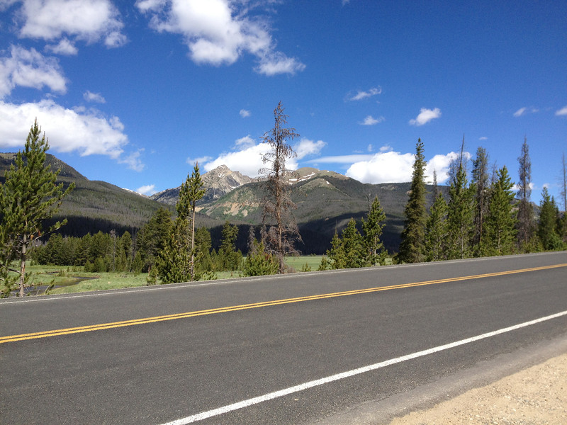 6/25 - My brother and his son were mountain biking today, so I took off for Rocky Mountain National Park and Trail Ridge Road...