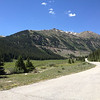 6/26 - Heading up Independence Pass. You can see it making a cut up the mountain in the distance.