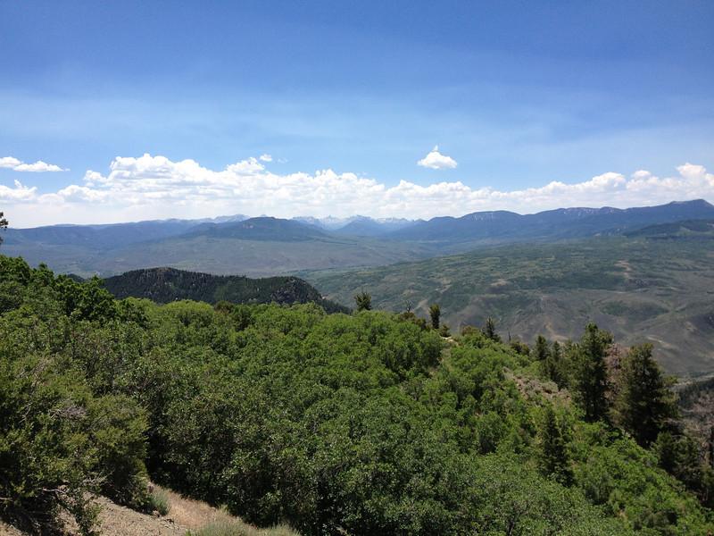 6/27 - CO92 running along Black Canyon...