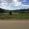 6/27 - Cottonwood Pass, looking back down west side, from where I'd come.