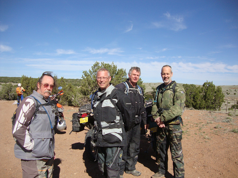 South of SnowFlake - Greg, Jim, Terry, Dave