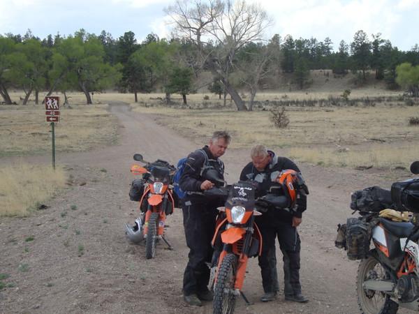 NM 61 south of Beaver Head - Terry, Jim