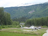 Riding up the Cassiar I stopped at a gas station and watched a guy top off his chopper.  Going...