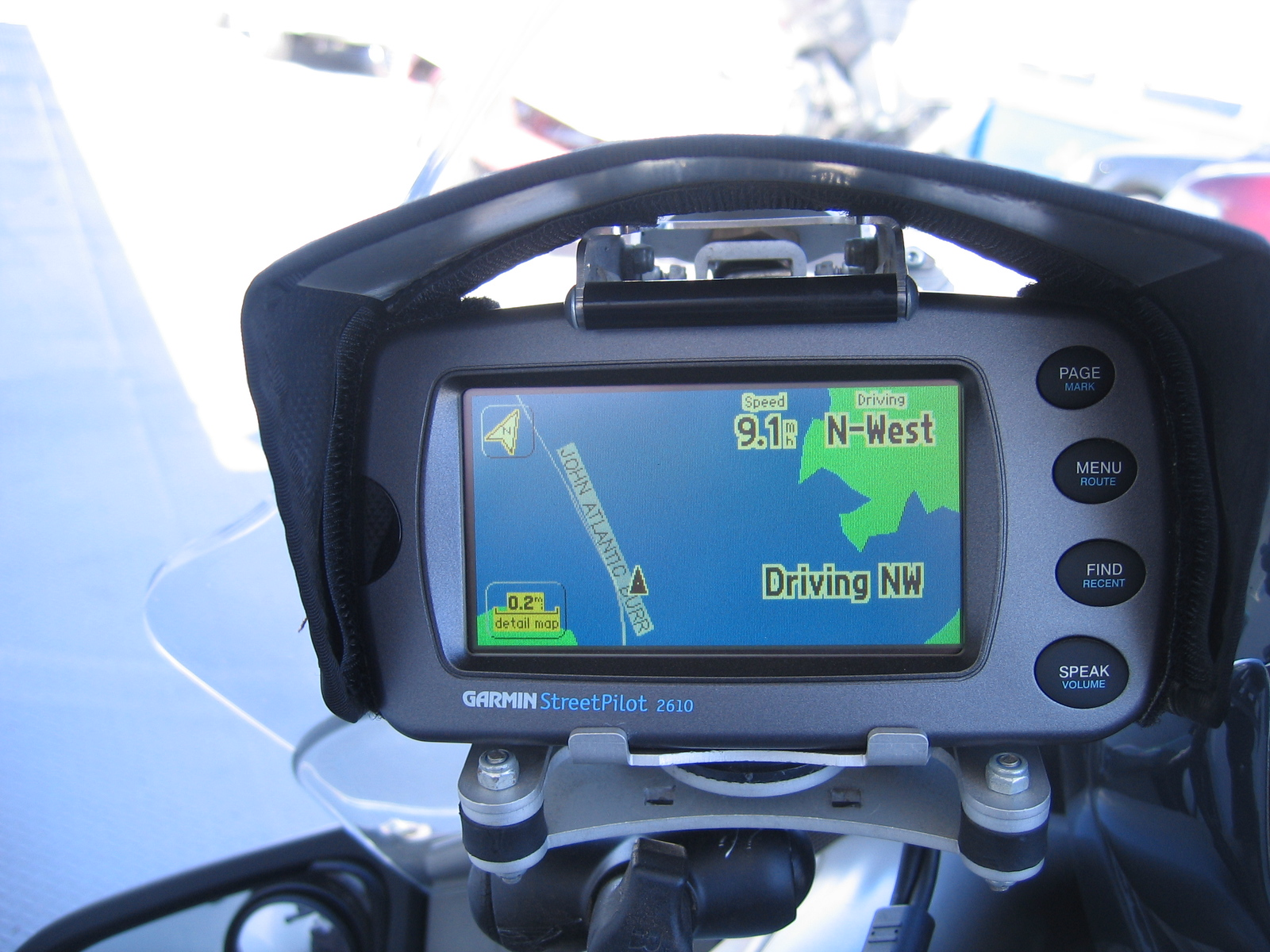 If your GPS looks like this you'd better be . . .