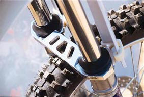 Here's a picture of the SRC fork brace Craig and I have.