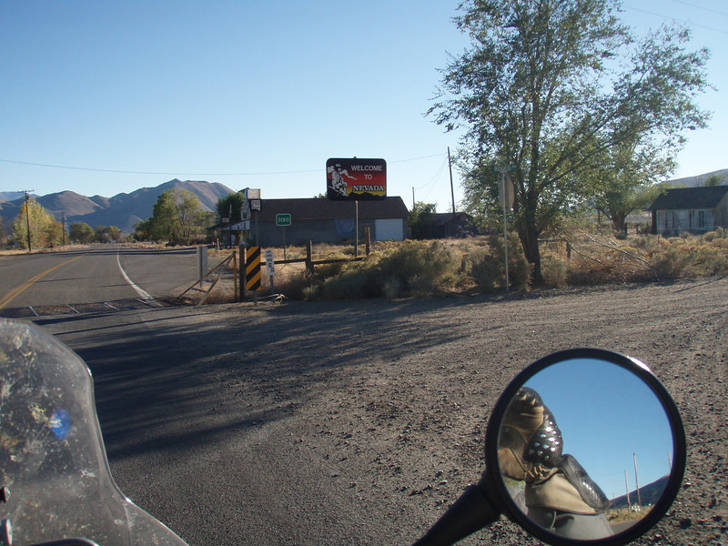 Entering Nevada from Oregon.