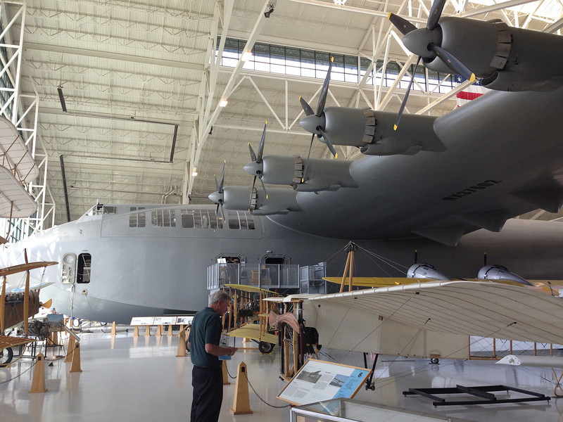 Howard Hughes' Spruce Goose, which is made of Birch.