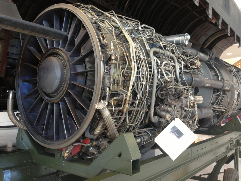 Stealth bomer engine. I hope they have the repair manual.