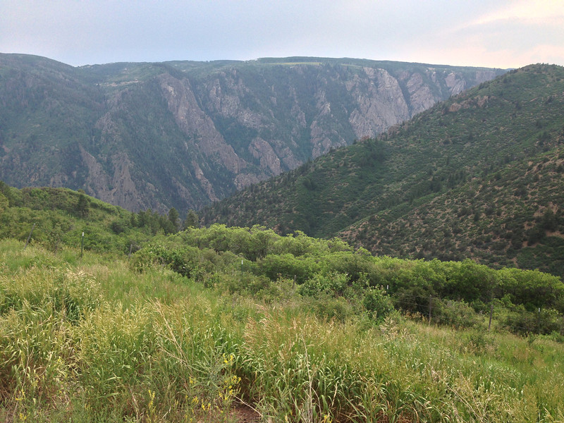 Black Canyon of the Gunnison.